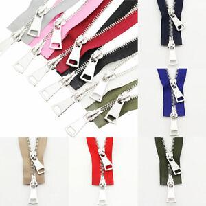 New Garment Coat Down jacket Long Metal Zipper Double Slider Two-Way Zip Sewing