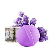 Lavender Cash Bath Bomb $2 - $100 Inside Great gifts, organic in the USA