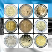 2 Euros conmemorativos Estonia. S.C.