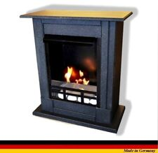 Ethanol Firegel Cheminee Fireplace Caminetti Madrid Premium Royal Granit noir