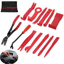 13pcs Car Audio Stereo Radio Door Dash Panel Trim Clip Plastic Removal Pry Tools