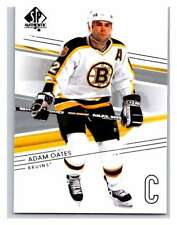 (HCW) 2014-15 Upper Deck SP Authentic #9 Adam Oates Bruins NHL Mint