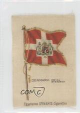 1910 ATC Flags of the World Silks #DERS Denmark Royal Standard Card a8x