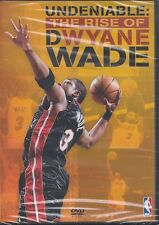 NBA - Undeniable - The Rise Of Dwayne Wade (DVD, 2010)-New & Sealed-Region 2