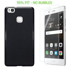 Cover e custodie opaco Per Huawei P9 lite in pelle sintetica per cellulari e palmari