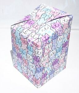 NEW PURPLE CATS Gift Box, Flat Packed. * PURRFECT GIFT WRAP FOR ANY CAT LOVER*