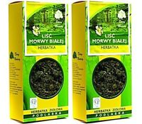 White Mulberry Leaf Organic Tea 100g inhibits the breakdown of polysaccharides !