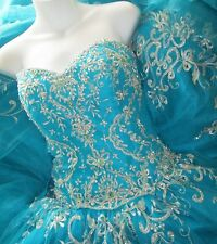 SALE SALE! NEW Prom Dress QUINCEANERA  Ball Gown   by PC MARY'S SIZE 10