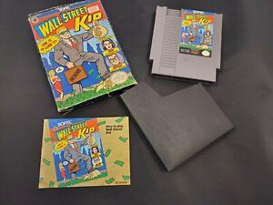 Wall Street Kid Nintendo NES Video Game Box Manual Sofel