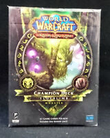 World of Warcraft WoW 2012 Elderlimb Monster Champion Deck SEALED!!^