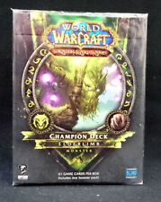 World of Warcraft WoW 2012 Elderlimb Monster Champion Deck SEALED!!^