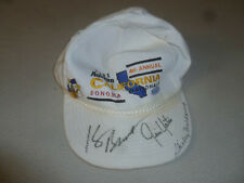 SIGNED 1991 AUTOLITE CALIFORNIA NATIONALS NHRA HAT 4TH ANNUAL SHIRLEY MULDOWNEY