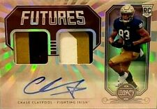 CHASE CLAYPOOL *SP /299 AUTO DUAL PATCH RC* 2020 PANINI LEGACY STEELERS ROOKIE