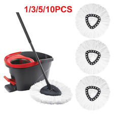 1/3/5/10Pc Mop Head Refill Replacement for O-Cedar EasyWring Microfiber Spin Mop