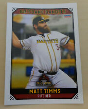 Matt Timms 2018/19 Australian Baseball League card - Brisbane Bandits