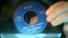 The Pyramids Penetration/Here Comes Marsha Best Label 45-13002 BR-4 VG
