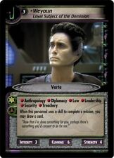 Star Trek CCG 2E Call To Arms Weyoun, Loyal Soldier of the Dominion 3R171