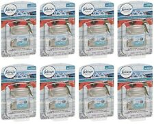 16 Febreze Set & Stick Refresh Air Freshener Refills Greek Seaside (Total 8 Pks)