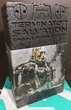 HOT TOYS TERMINATOR SALVATION ENDOSKELETON T-600 WEATHERED RUBBER SKIN MMS104