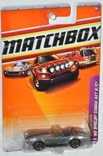 Matchbox 2010 #5 Sports Cars #5 65 Shelby Cobra 427 S/C MOC VHTF Mattel T5939