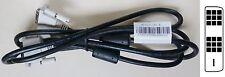 Lot de 10 câbles DVI-D single link Mâle-Mâle neufs 1,80m ref HP 50.7A303.001 R