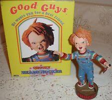 Raro en Caja Chucky Childs Play Cabeza Aldaba figura por Neca Figura De Terror