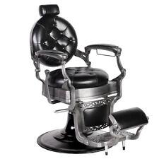 """ROYALE"" Premium Hydraulic Reclining Barber Equipment Chair BC-50BLK"