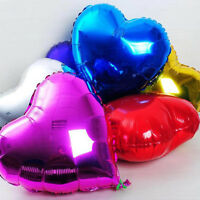 Romantic Love Heart Foil Helium Balloons Wedding Birthday Party Decor Ballon 3C