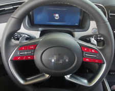 For Hyundai Tucson NX4 2021 Aluminum Steering Wheel Buttons Sticker Cover