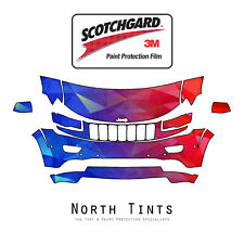 Jeep Grand Cherokee Summit 2014-2016 PreCut 3M Scotchgard Paint Protection PPF