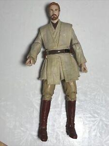 "Star Wars Obi Wan Kenobi Orange Line 6"" Black Series #10"