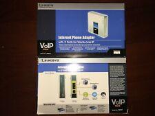 Unlocked Brand new Cisco Linksys PAP2T-NA SIP VOIP Phone Adapter 2-Port Gateway