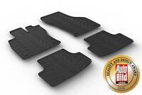 Design Passform Gummimatten Gummi Fußmatten für Seat Leon ST (Kombi) ab Bj 2013>