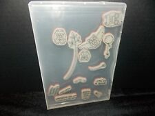 Stampin Up Owl Together Now Balloon Hoot Leaves Heart 14 Clear Mount Stamp L0618