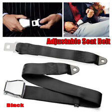 Adjustable Airplane Seat Safe Belt Plane Seatbelt Extenders Aerospace Seat New