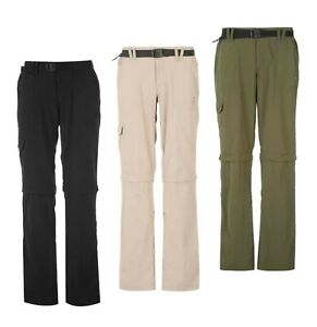 Ladies Karrimor Outdoor Walking Casual Aspen Zip Off Trousers Sizes from 8 to 20