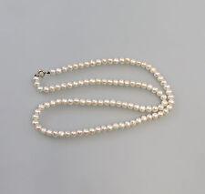 99825477 Collier de perles de reproduction avec Fermeture en or 333 GG Fermoir