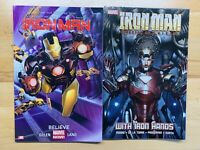 Iron Man :  With Iron Hands & Believe Soft Cover Paperback TPB Marvel Comics