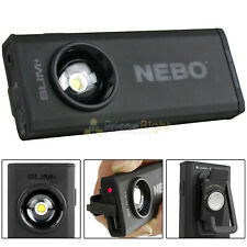 Nebo Slim+ Rechargeable 700 Lumen Pocket Dimmable With Red Laser Power Bank 6859
