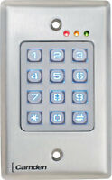 Camden Controls CM-120WV2 Flush Mount Outdoor Wired Keypad