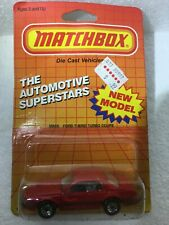 Matchbox. Thunderbird Turbo Coupe diecast New unopened pkg. MB59