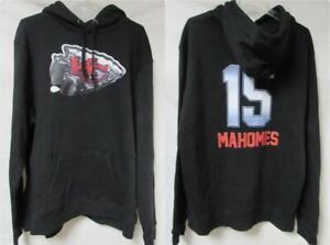 Kansas City Chiefs Patrick Mahomes #15 Men's Size 2XL Pullover Hoodie A1 3928