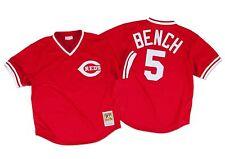 Mitchell Ness 1983 Cincinnati Reds Johnny Bench Batting Practice Jersey XXL