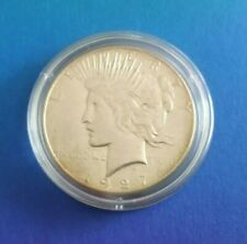 USA 1$ Peace Dollar Silbermünze Coin San Franzisko 1927