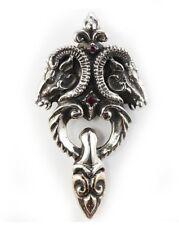 Ram Head Sterling Silver Pendant