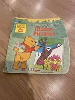 vintage Winnie the Pooh A Hunny Pot Book Hidden Pictures