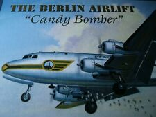 """The Berlin Airlift """"Candy Bomber"""" 1000 pc Puzzle Minicraft Collection WarHistory"""