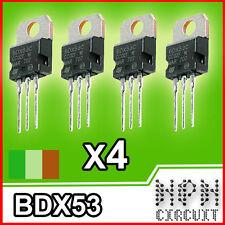 4x BDX53C Transistor NPN Darligton 100V 8A