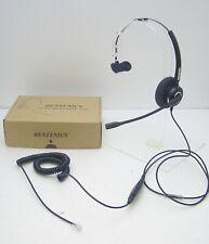 Bentenics Mono Headset for Avaya Nortel Hybrex NEC Aspire Commander Toshiba 3Com