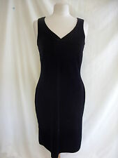 Ladies Dress - Authentic Clothing Company, size 12, black, velvet, stretchy 1560